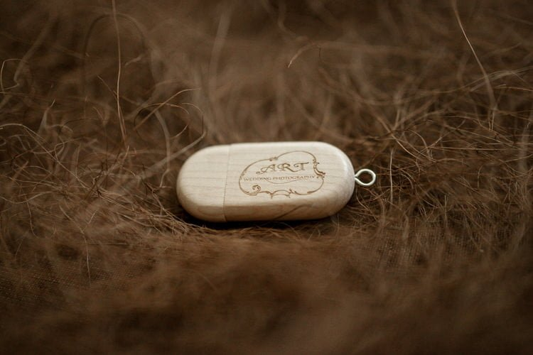 Wooden Usb Drive in Exclusive Wooden Box