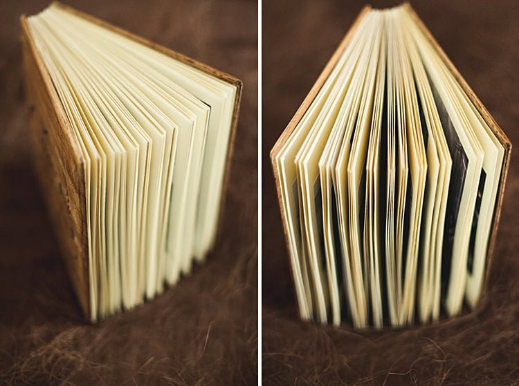 Wooden Wedding Album