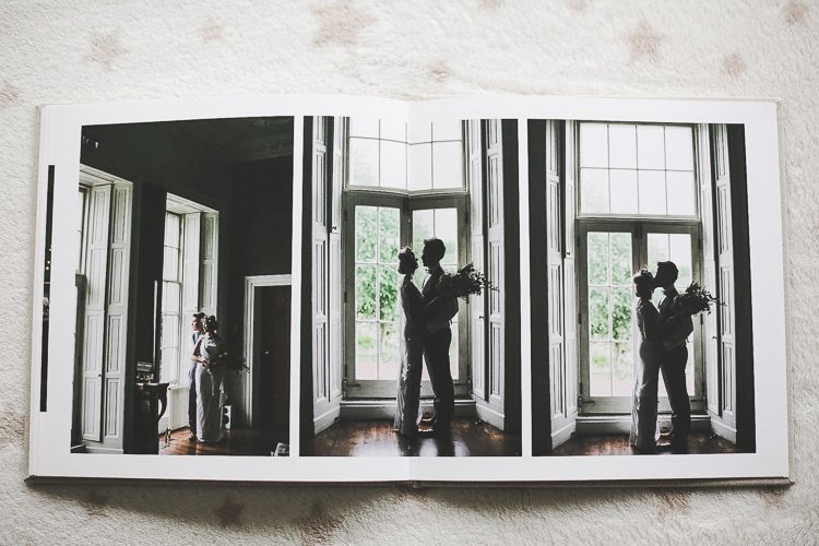 fine art wedding album