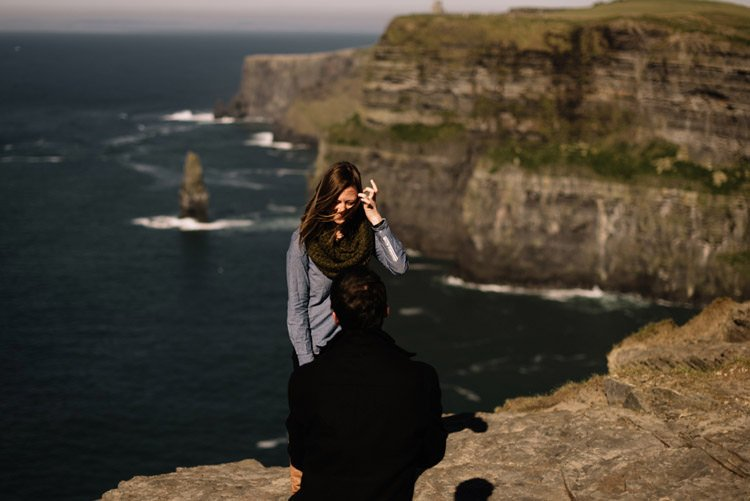 016 cliffs of moher proposal session wedding photographer ireland