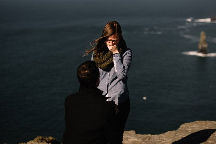 Cliifs Of Moher Wedding Proposal