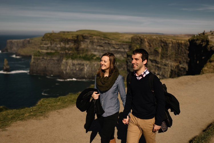 027 cliffs of moher proposal session wedding photographer ireland