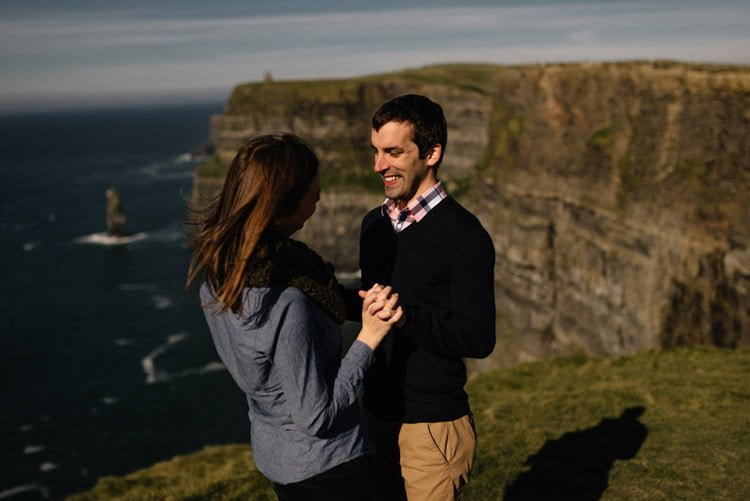 085 cliffs of moher proposal session wedding photographer ireland