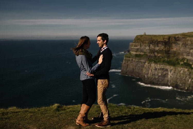 087 cliffs of moher proposal session wedding photographer ireland