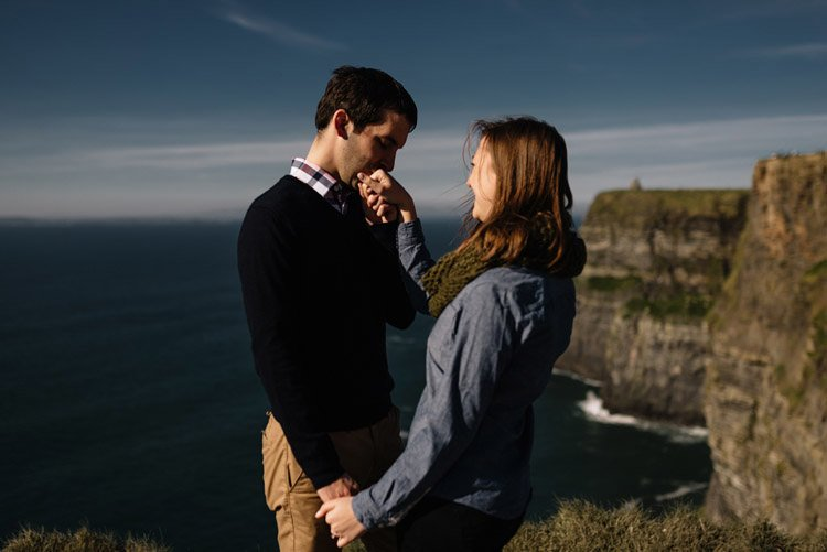 111 cliffs of moher proposal session wedding photographer ireland