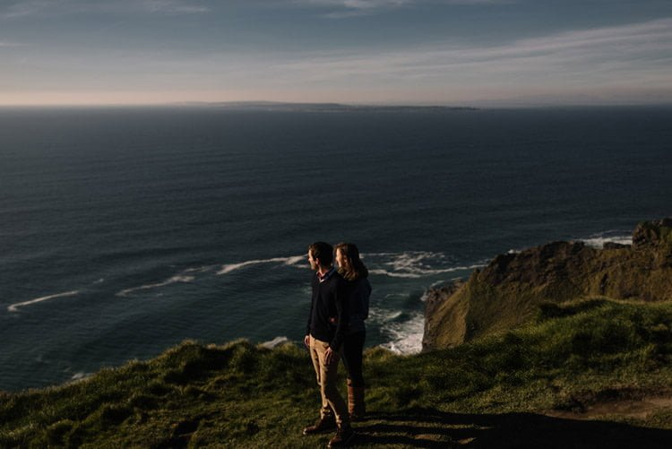 159 cliffs of moher proposal session wedding photographer ireland