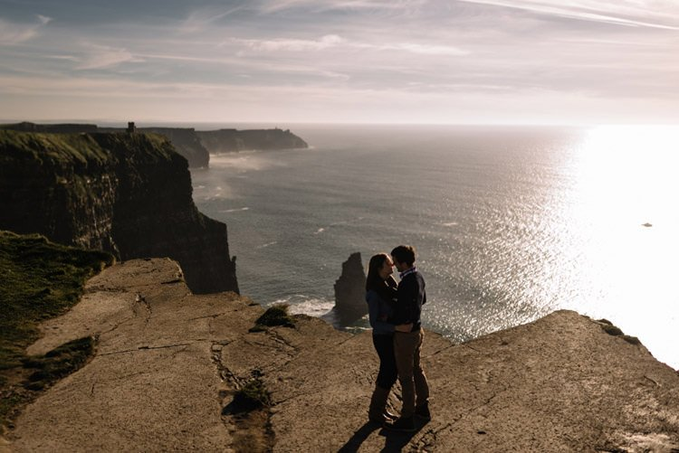 178 cliffs of moher proposal session wedding photographer ireland