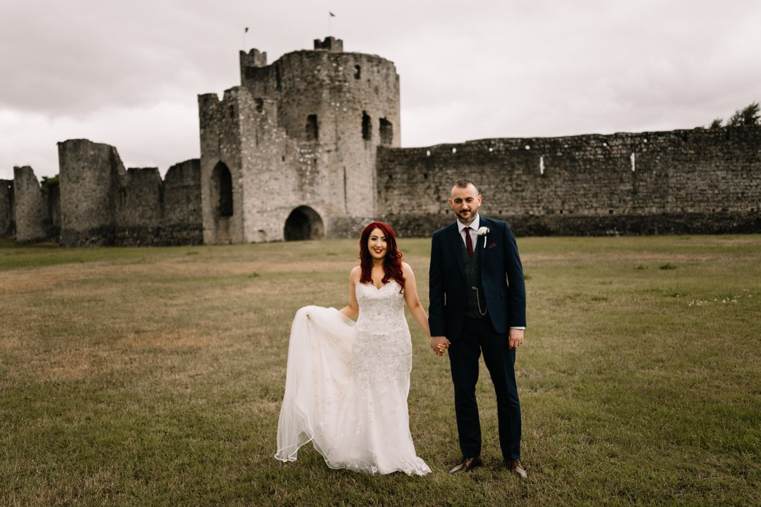 Beautiful Relaxed Summer Wedding in Trim Castle