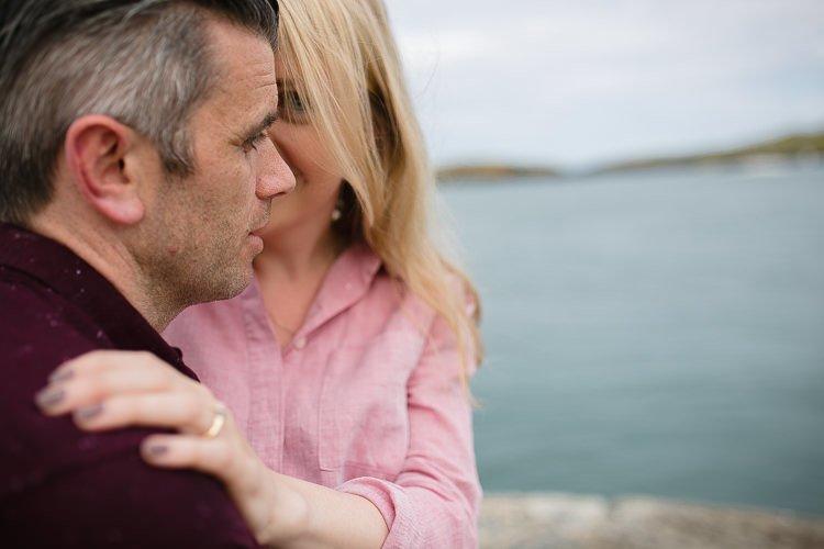 Beautiful Romantic Engagement Session