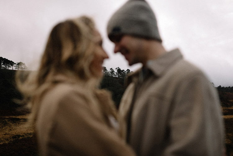 006 wicklow mountain proposal an intimate engagement session
