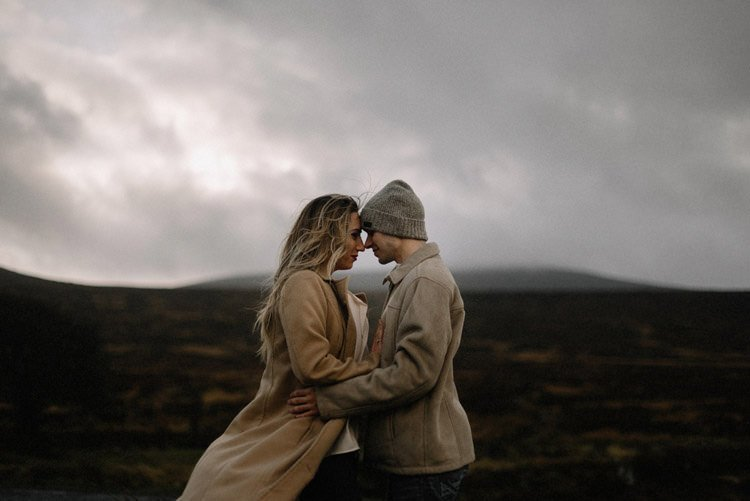 020 wicklow mountain proposal an intimate engagement session