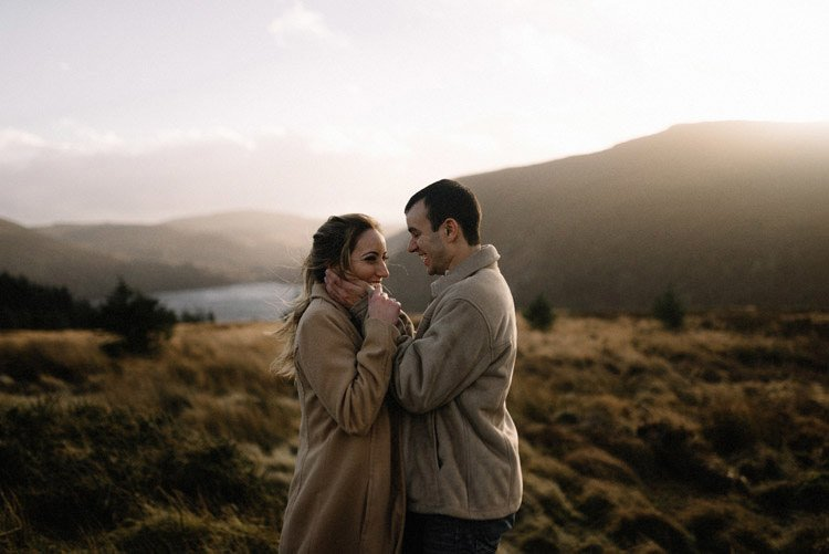 053 wicklow mountain proposal an intimate engagement session