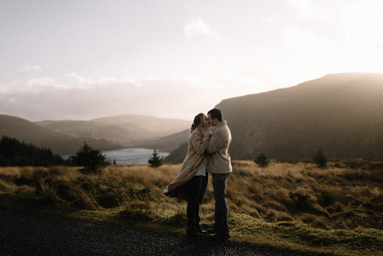 054 wicklow mountain proposal an intimate engagement session