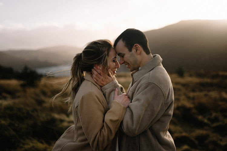 055 wicklow mountain proposal an intimate engagement session