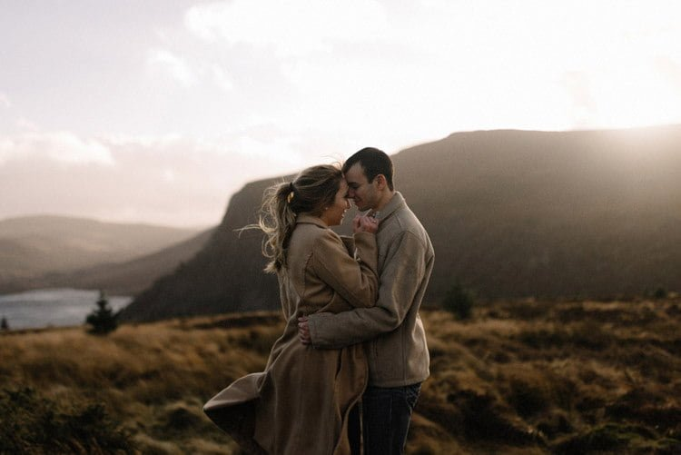 056 wicklow mountain proposal an intimate engagement session