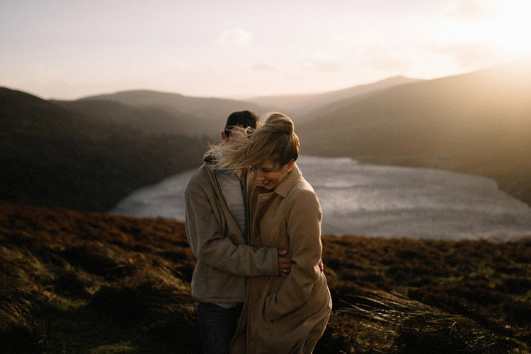 061 wicklow mountain proposal an intimate engagement session