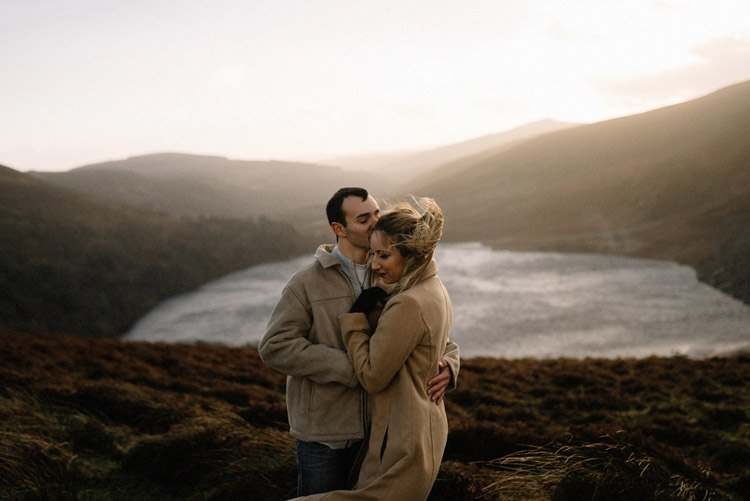 062 wicklow mountain proposal an intimate engagement session