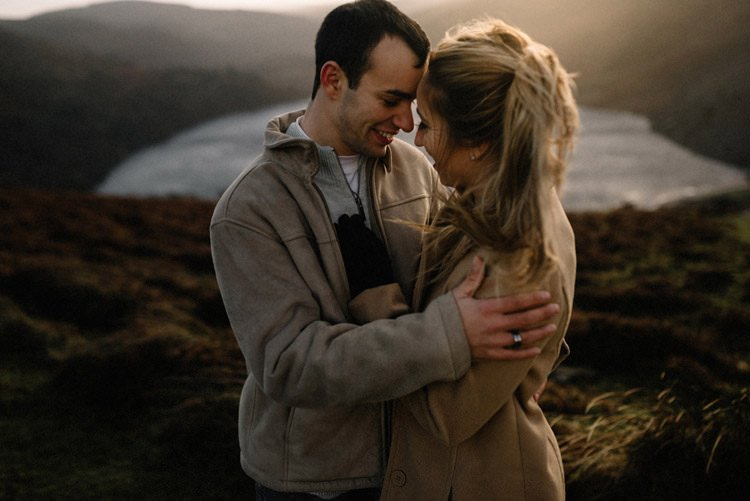063 wicklow mountain proposal an intimate engagement session
