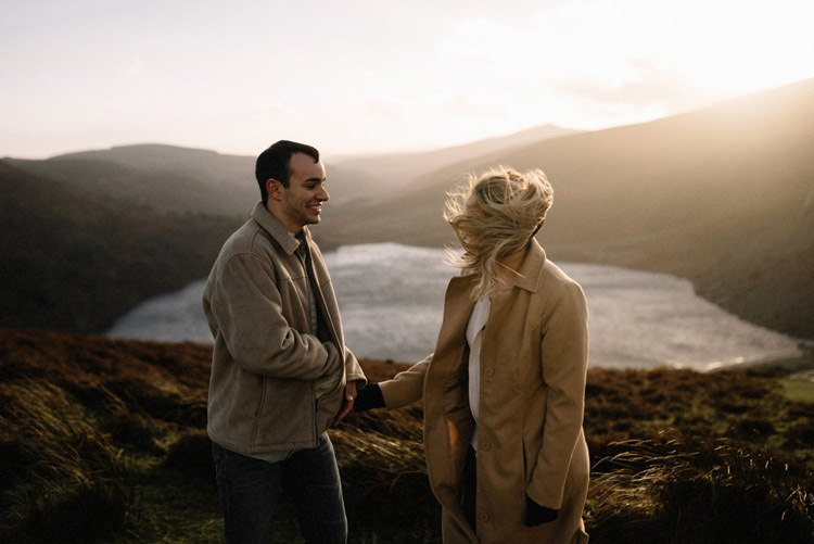 064 wicklow mountain proposal an intimate engagement session