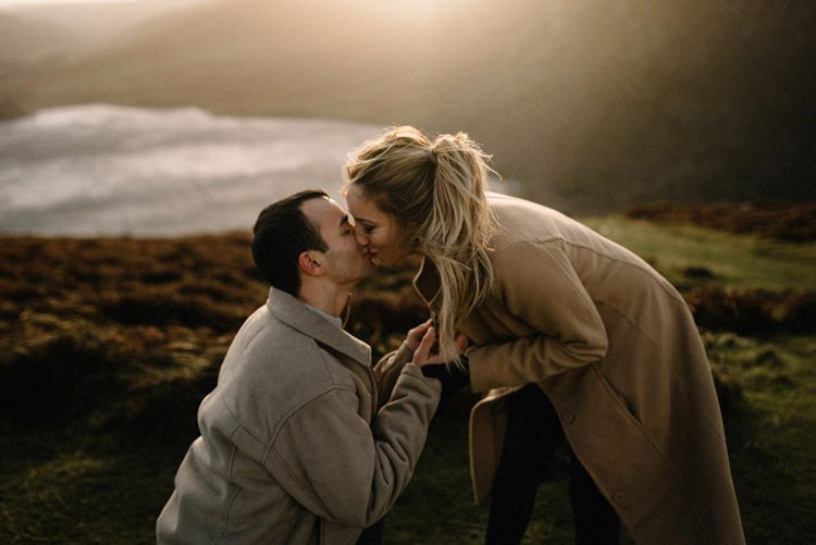 067 wicklow mountain proposal an intimate engagement session