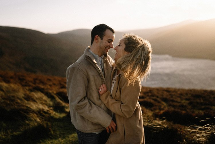 070 wicklow mountain proposal an intimate engagement session