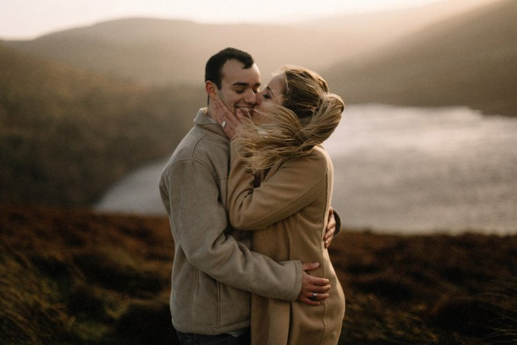 071 wicklow mountain proposal an intimate engagement session