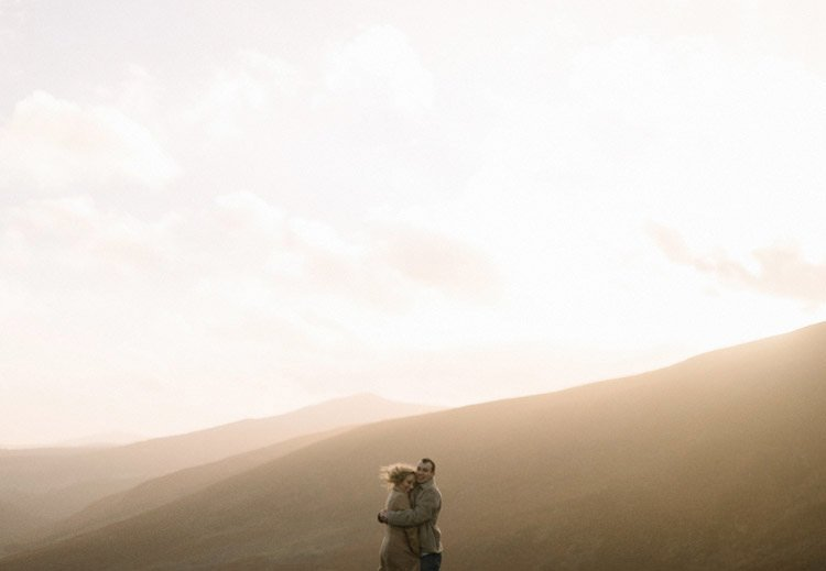 073 wicklow mountain proposal an intimate engagement session
