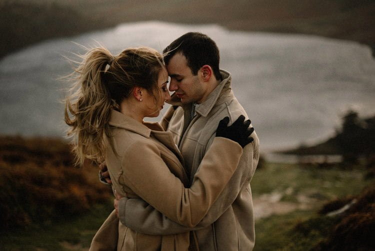 077 wicklow mountain proposal an intimate engagement session