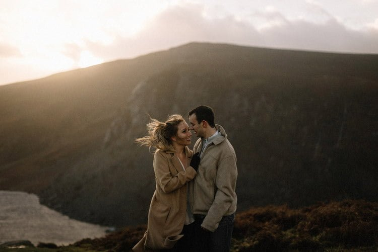 080 wicklow mountain proposal an intimate engagement session