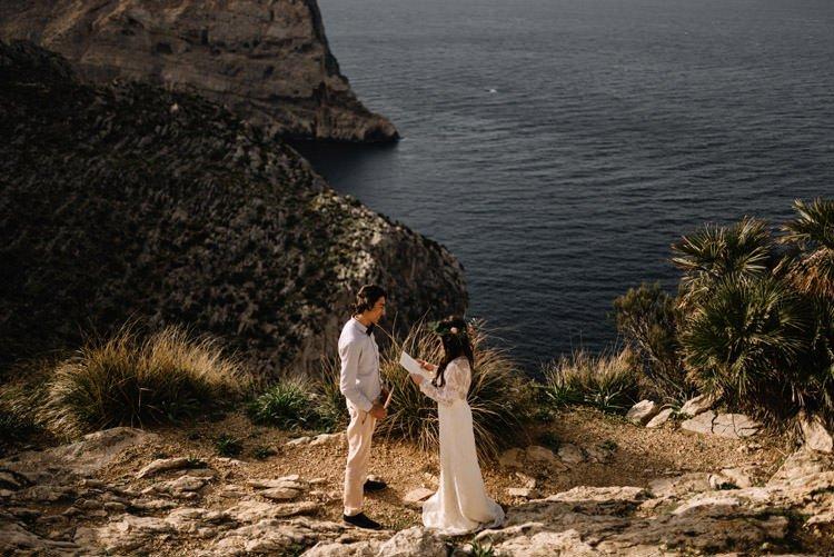 105 elopement photographer mallorca cap de formentor destination wedding