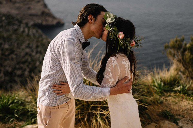 114 elopement photographer mallorca cap de formentor destination wedding