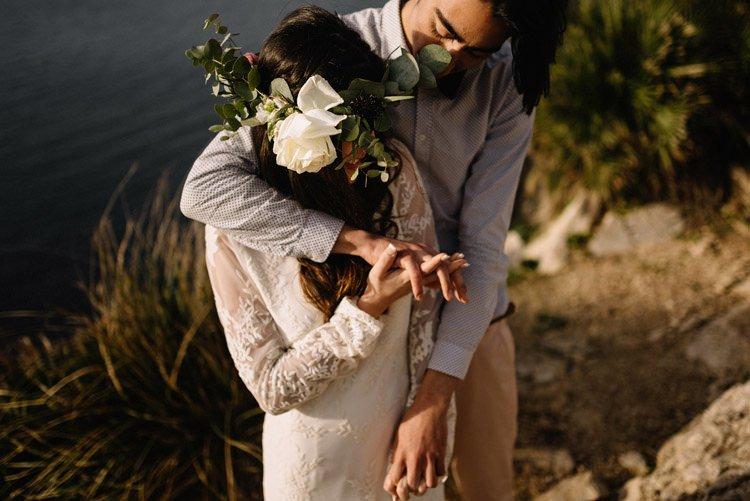 122 elopement photographer mallorca cap de formentor destination wedding