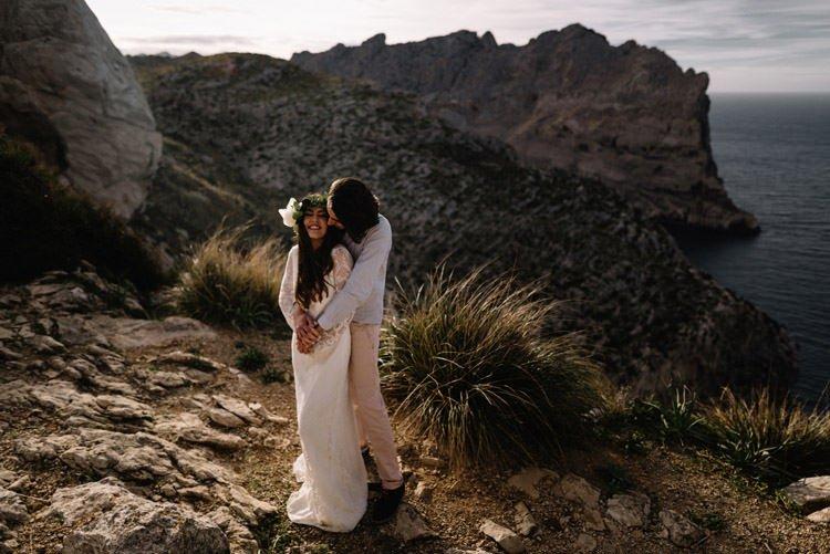 130 elopement photographer mallorca cap de formentor destination wedding