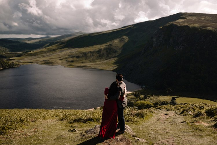 006 wicklow engagement session mountains moody style weather american couple