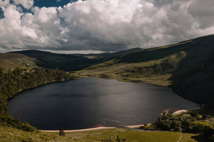 008 wicklow engagement session mountains moody style weather american couple