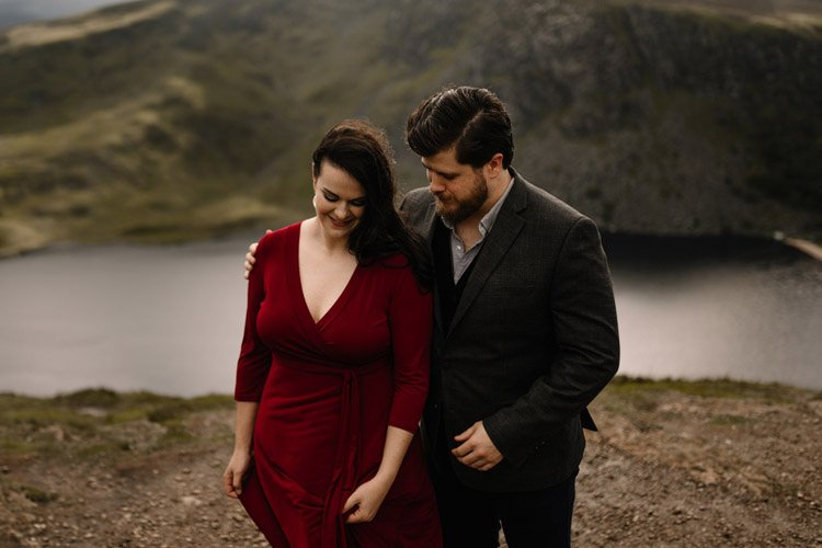 018 wicklow engagement session mountains moody style weather american couple