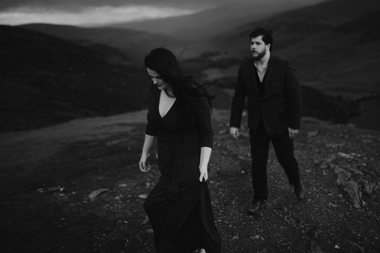039 wicklow engagement session mountains moody style weather american couple