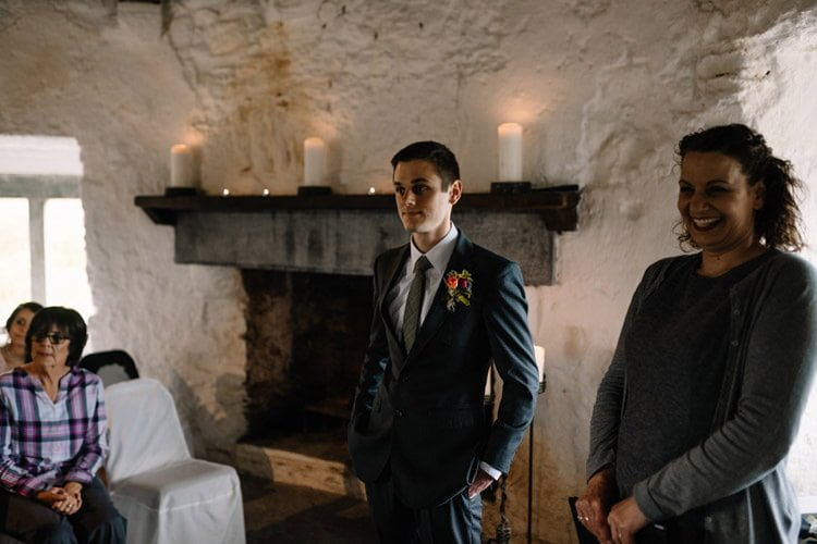 046 intimate newtown castle wedding dough mor lodge the wild atlantic way
