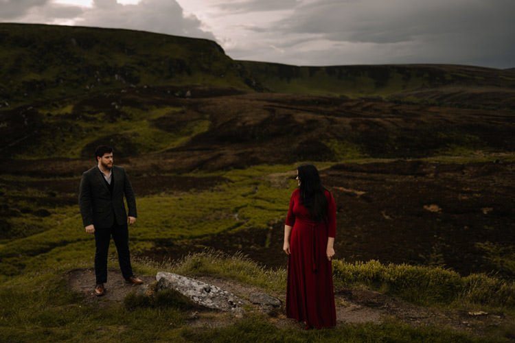 053 wicklow engagement session mountains moody style weather american couple
