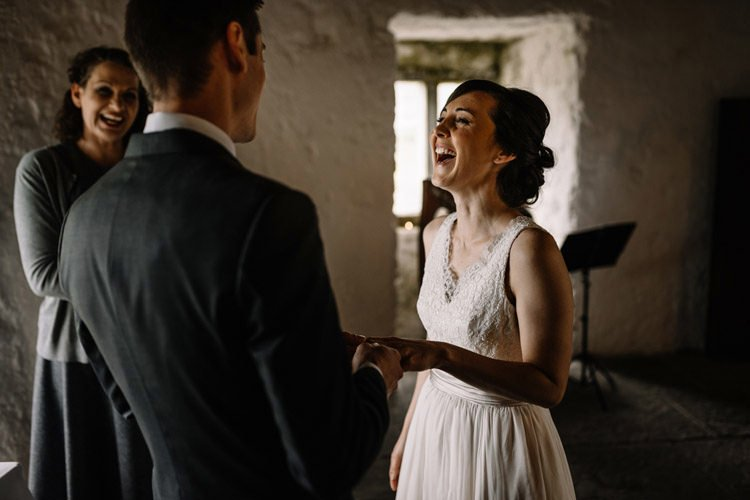 Intimate Wedding At Newtown Castle