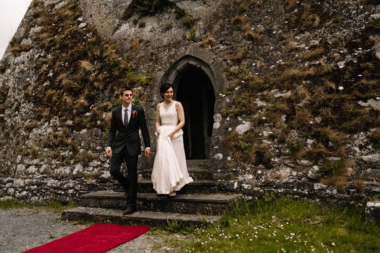 081 intimate newtown castle wedding dough mor lodge the wild atlantic way
