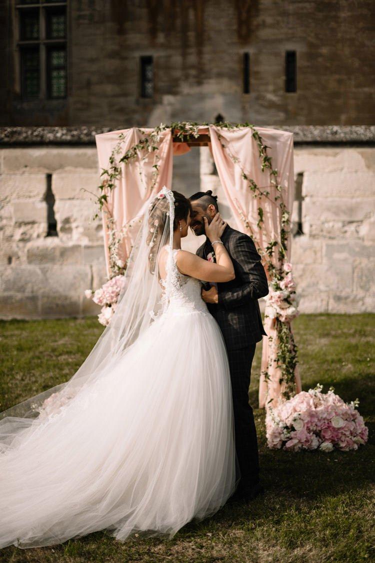 Chateau de pierrefonds wedding dresses