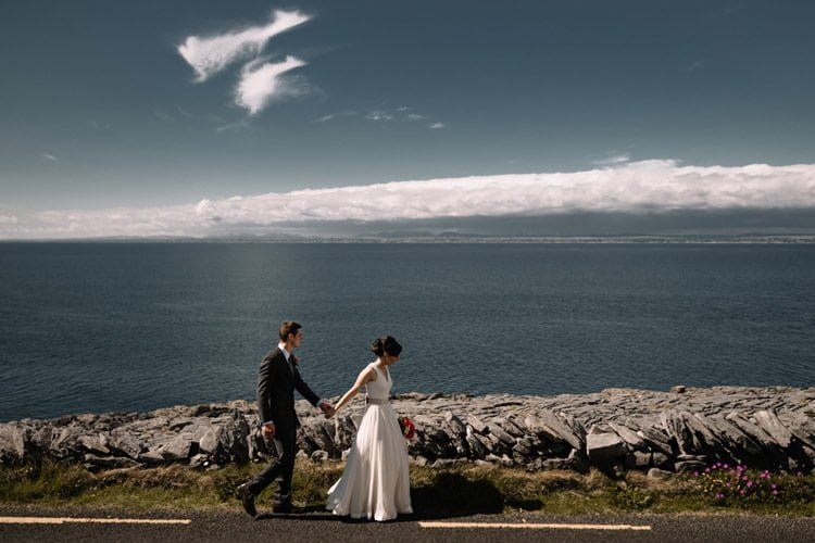 092 intimate newtown castle wedding dough mor lodge the wild atlantic way