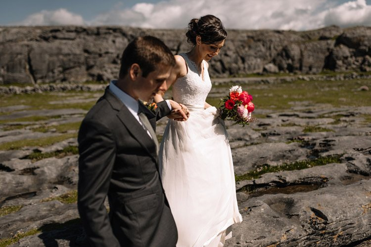 097 intimate newtown castle wedding dough mor lodge the wild atlantic way