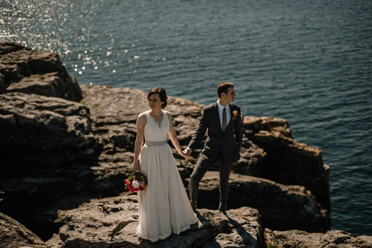 107 intimate newtown castle wedding dough mor lodge the wild atlantic way