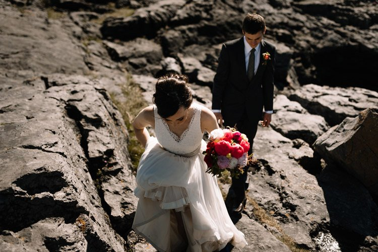 109 intimate newtown castle wedding dough mor lodge the wild atlantic way