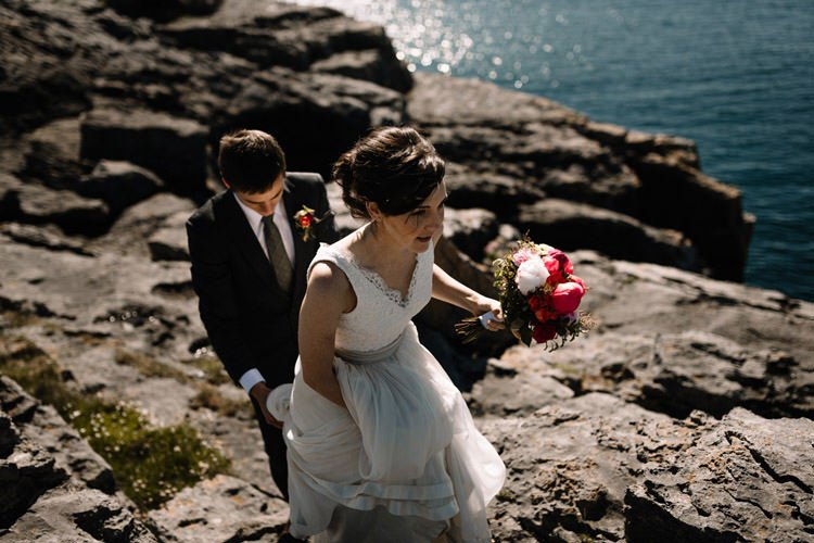 110 intimate newtown castle wedding dough mor lodge the wild atlantic way