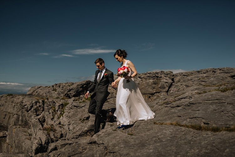 113 intimate newtown castle wedding dough mor lodge the wild atlantic way