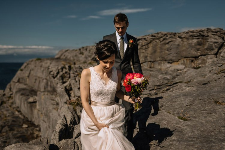 114 intimate newtown castle wedding dough mor lodge the wild atlantic way