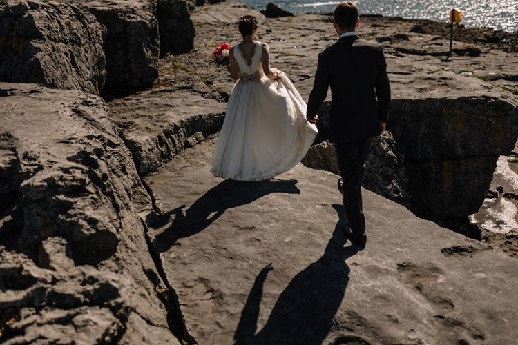 115 intimate newtown castle wedding dough mor lodge the wild atlantic way